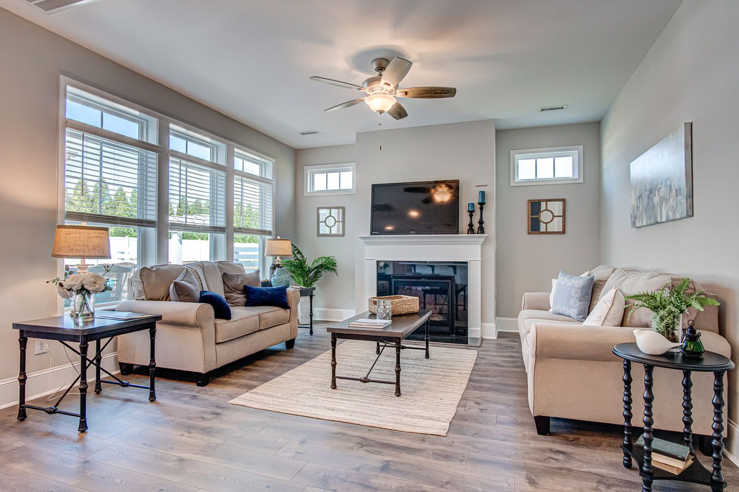 Living Area featured in the Palazzo 2020 Craftsman By McKee Homes in Raleigh-Durham-Chapel Hill, NC