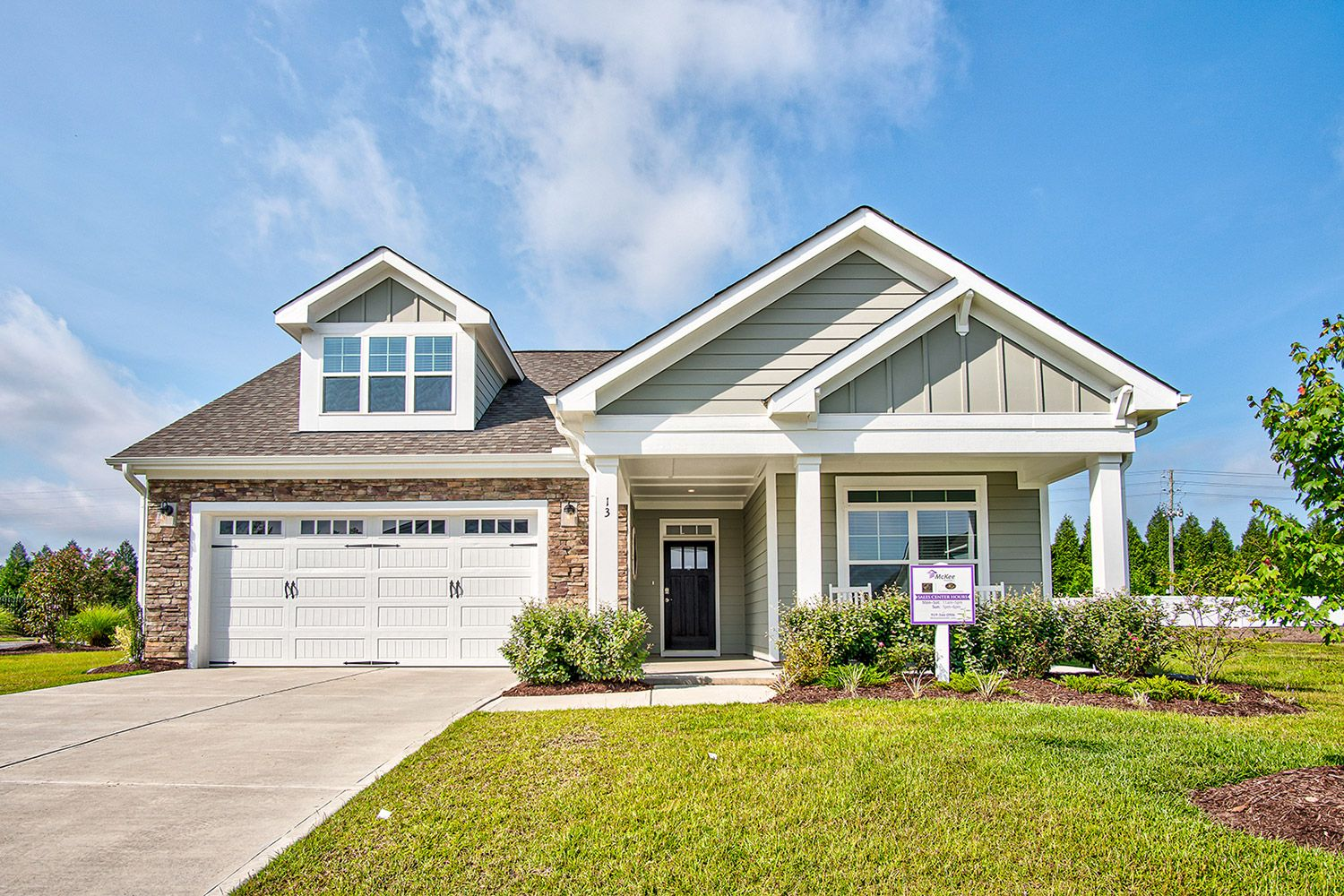 Exterior featured in the Torino 2020 Craftsman By McKee Homes in Raleigh-Durham-Chapel Hill, NC