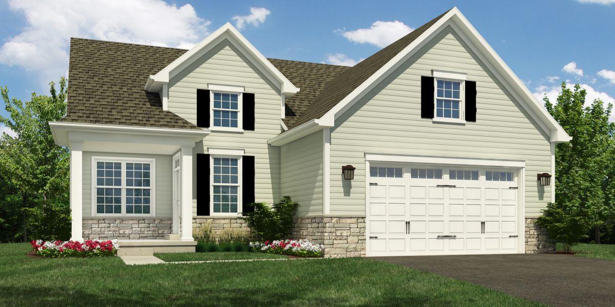 Exterior featured in The Atwood By McKee Builders in Wilmington-Newark, DE