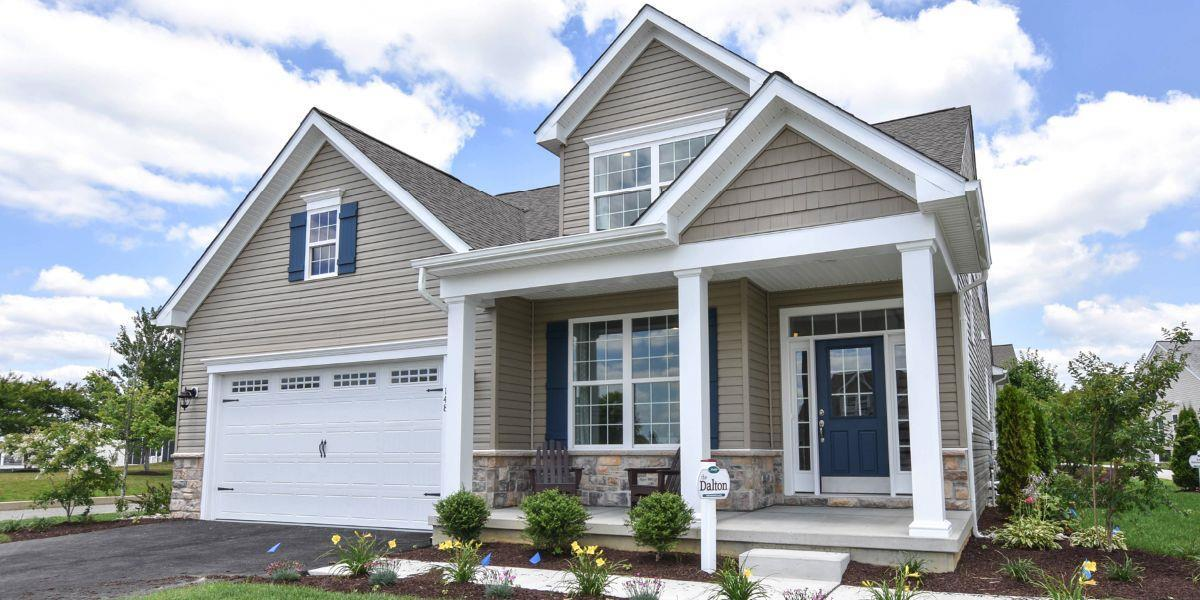 Exterior featured in The Dalton By McKee Builders in Dover, DE