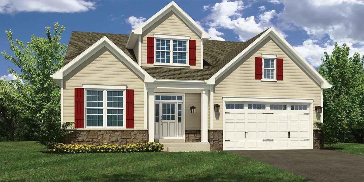 Exterior featured in The Wyatt By McKee Builders in Wilmington-Newark, DE