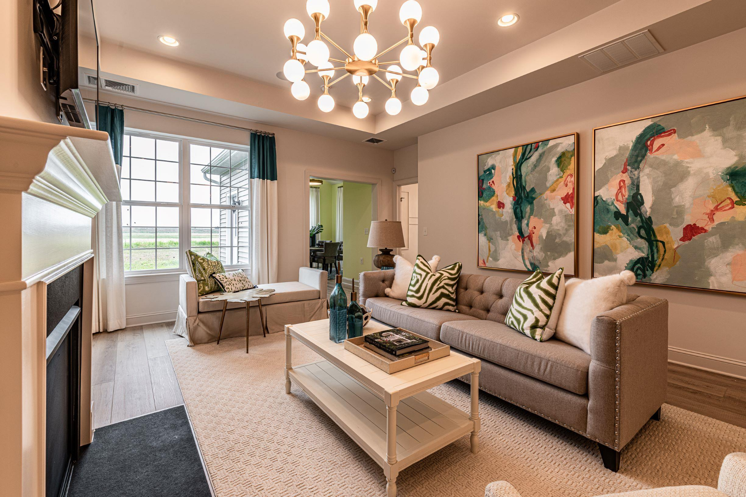 Living Area featured in The DuPont By McKee Builders in Wilmington-Newark, DE