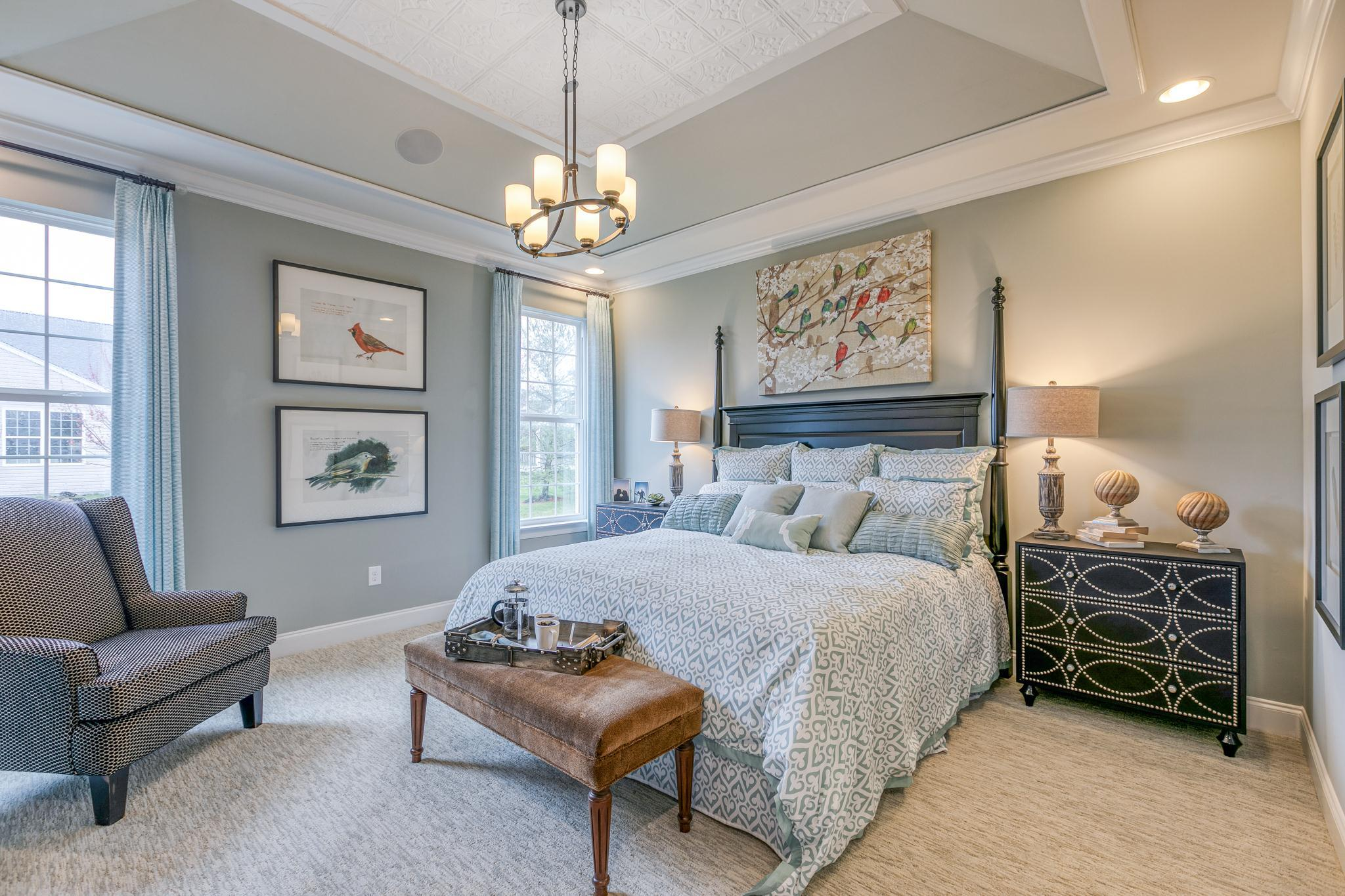 Bedroom featured in The Kipling By McKee Builders in Dover, DE