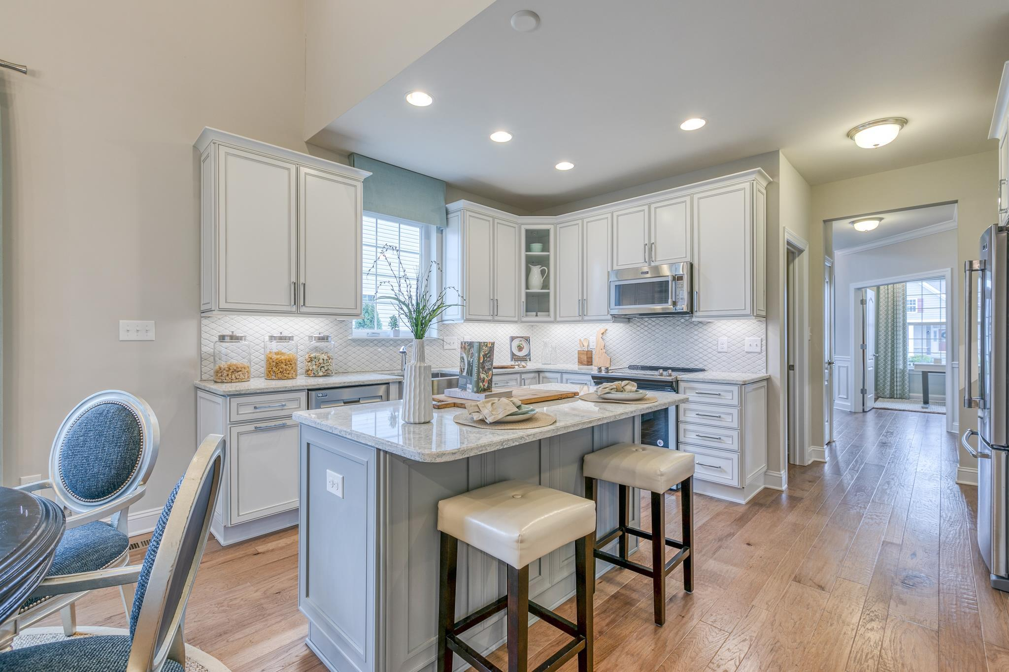 Kitchen featured in The Dalton By McKee Builders in Dover, DE