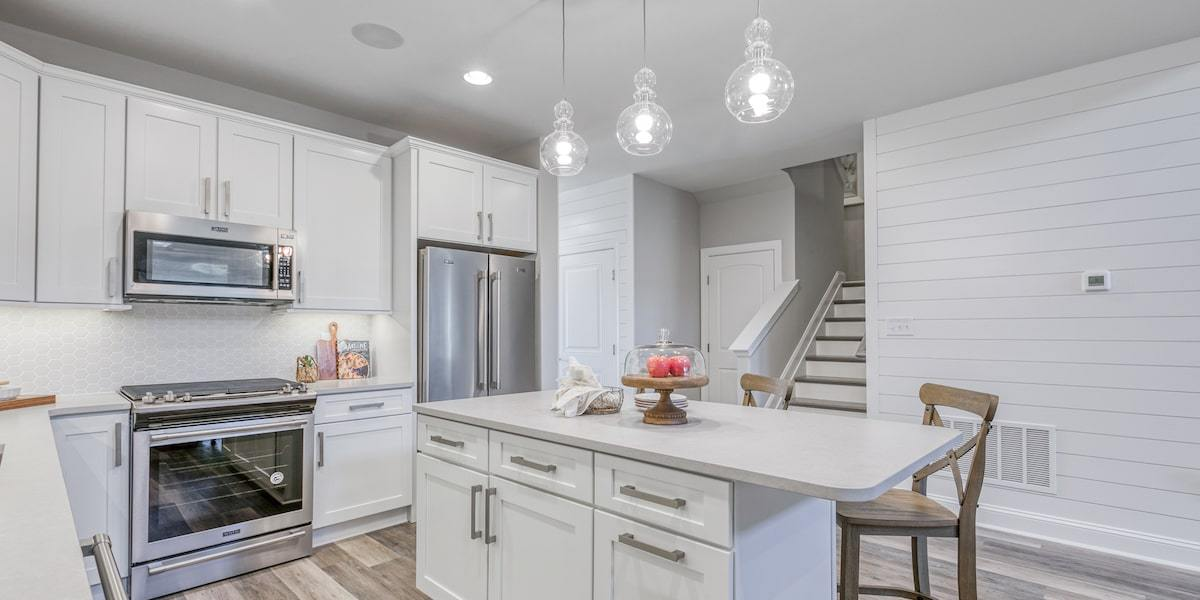 Kitchen featured in The Conrad By McKee Builders in Sussex, DE