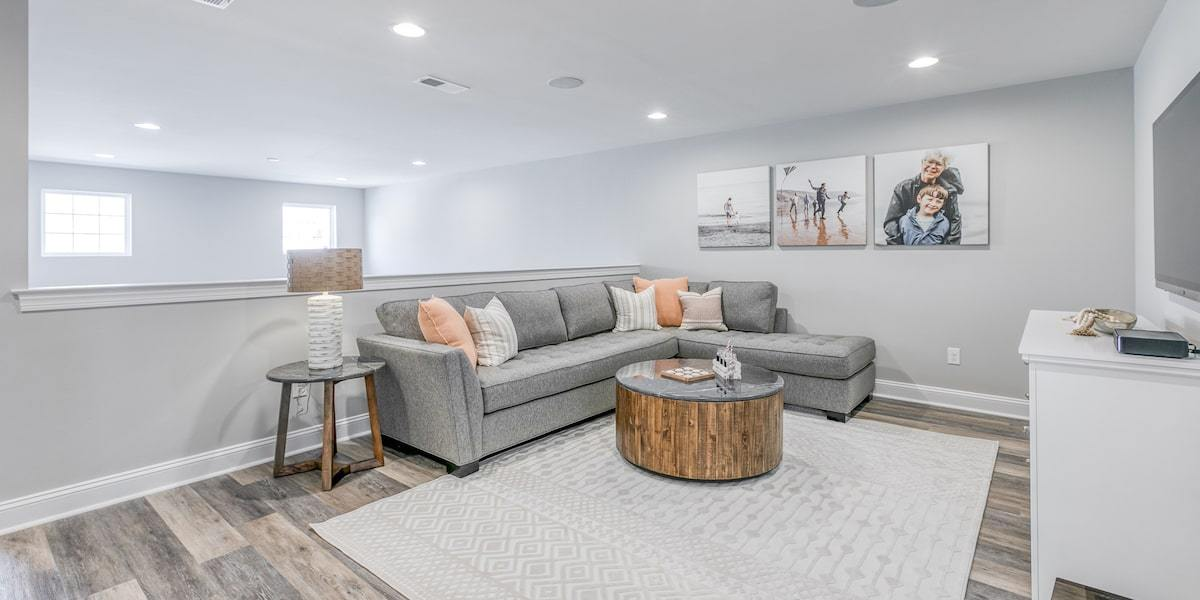 Living Area featured in The Conrad By McKee Builders in Sussex, DE
