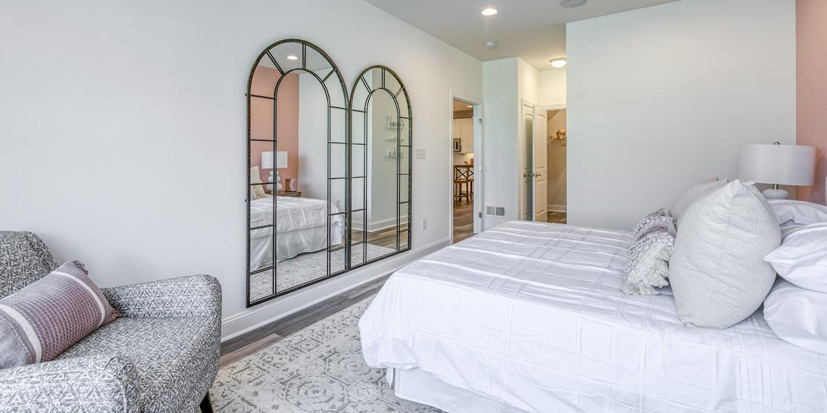 Bedroom featured in The Conrad By McKee Builders in Sussex, DE