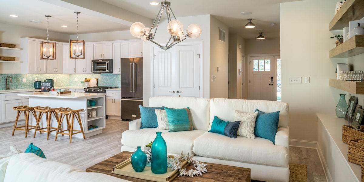 Living Area featured in The Dawson By McKee Builders in Sussex, DE