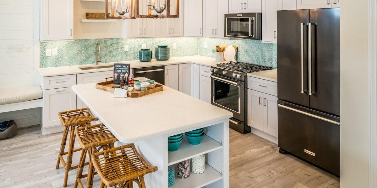 Kitchen featured in The Dawson By McKee Builders in Sussex, DE