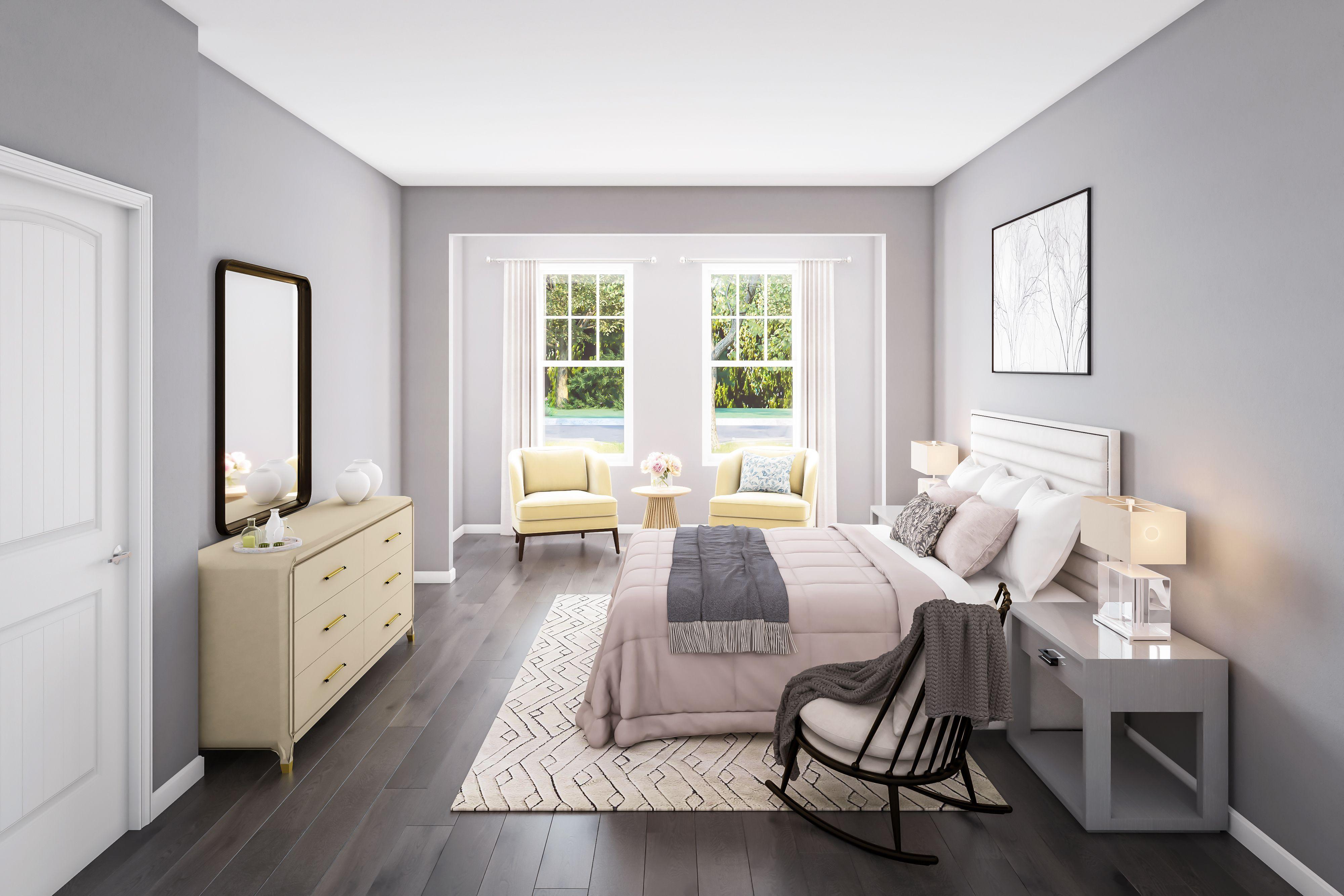 Bedroom featured in The Sandpiper By McKee Builders in Sussex, DE