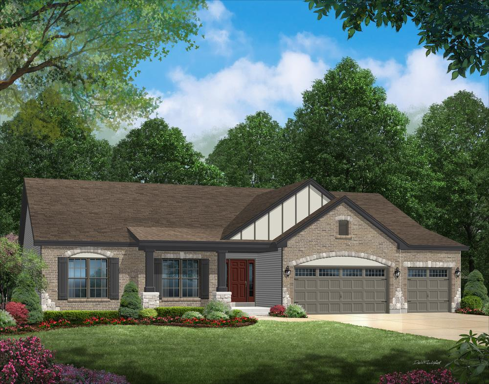 Exterior featured in the Sterling By McKelvey Homes in St. Louis, MO