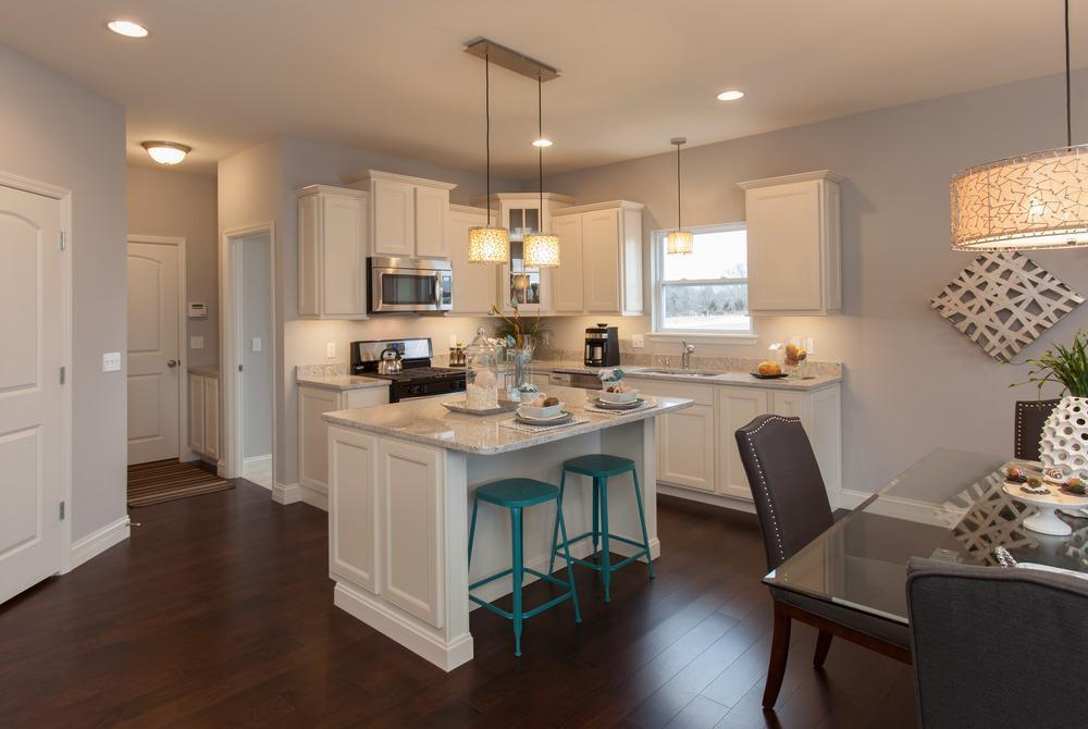 Kitchen featured in the Sterling Side Entry By McKelvey Homes in St. Louis, MO