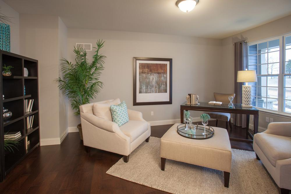Living Area featured in the Sterling Side Entry By McKelvey Homes in St. Louis, MO