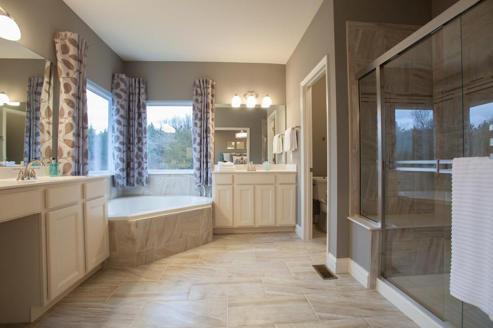 Bathroom featured in the Sterling By McKelvey Homes in St. Louis, MO