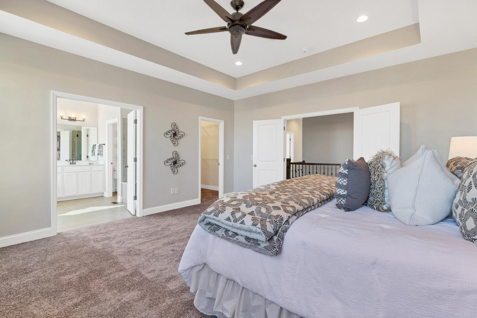 Bedroom featured in the Sterling By McKelvey Homes in St. Louis, MO