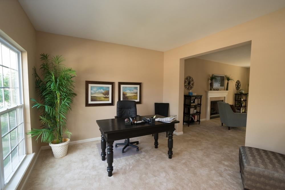 Living Area featured in the Carlyle By McKelvey Homes in St. Louis, MO