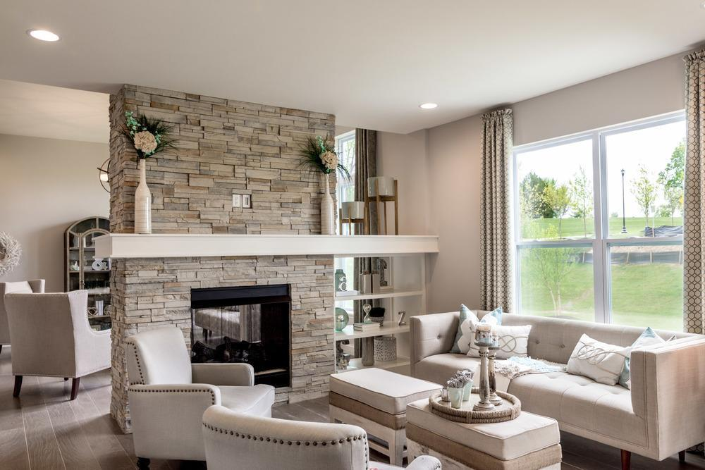 Living Area featured in the Provence By McKelvey Homes in St. Louis, MO