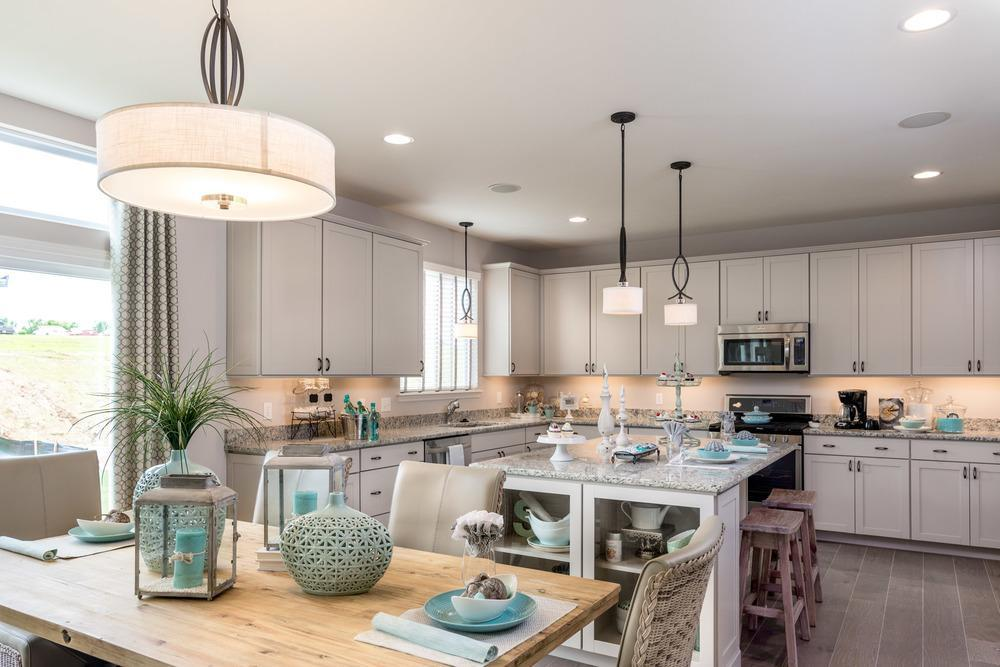 Kitchen featured in the Provence By McKelvey Homes in St. Louis, MO