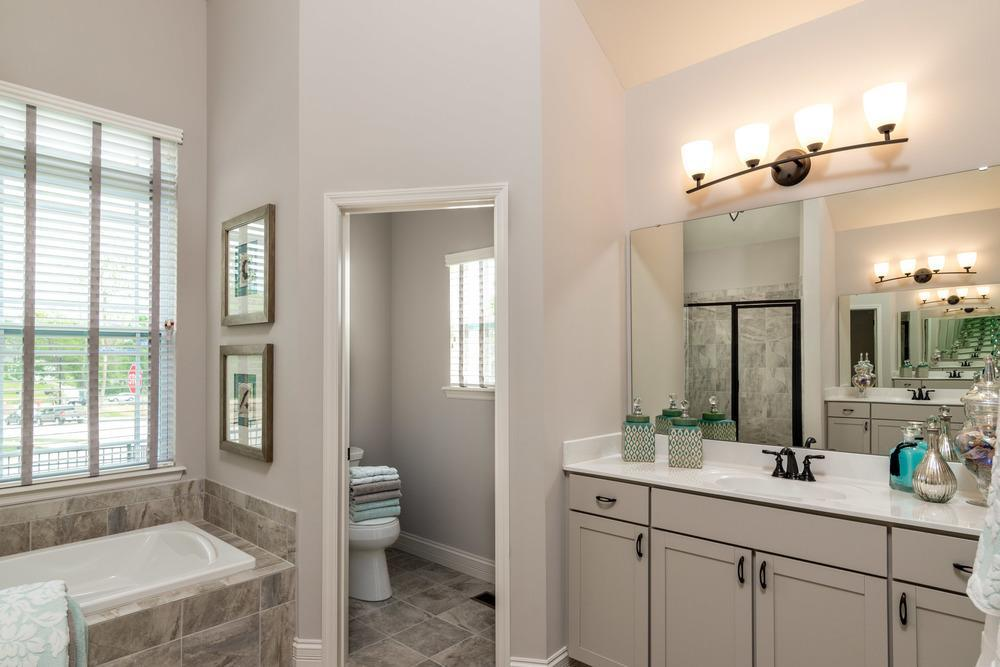 Bathroom featured in the Provence By McKelvey Homes in St. Louis, MO