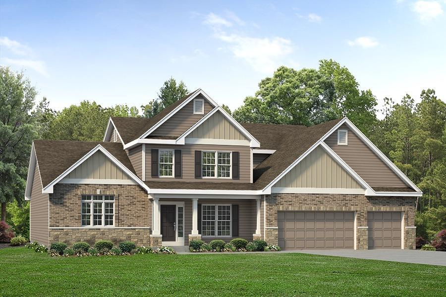 Exterior featured in the Muirfield By McKelvey Homes in St. Louis, MO