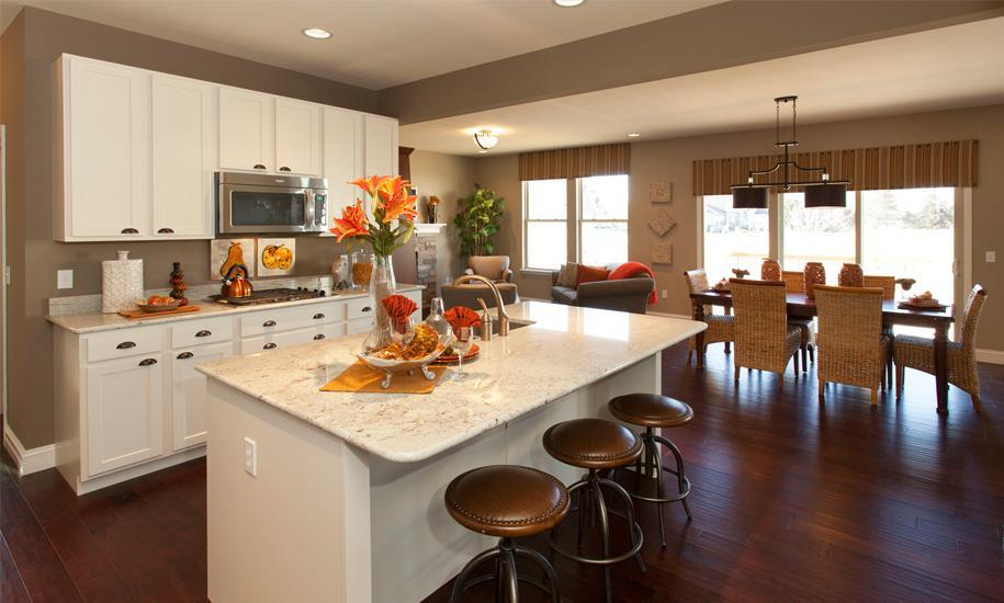 Kitchen featured in the Muirfield By McKelvey Homes in St. Louis, MO