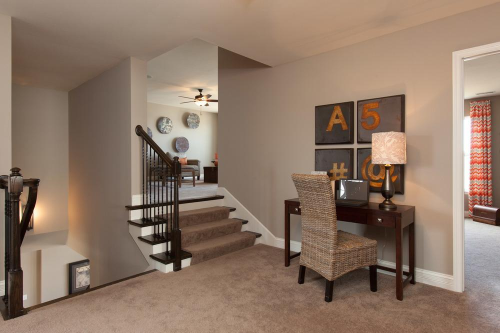 Living Area featured in the Muirfield By McKelvey Homes in St. Louis, MO