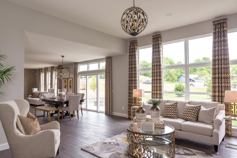 Living Area featured in the Turnberry By McKelvey Homes in St. Louis, MO