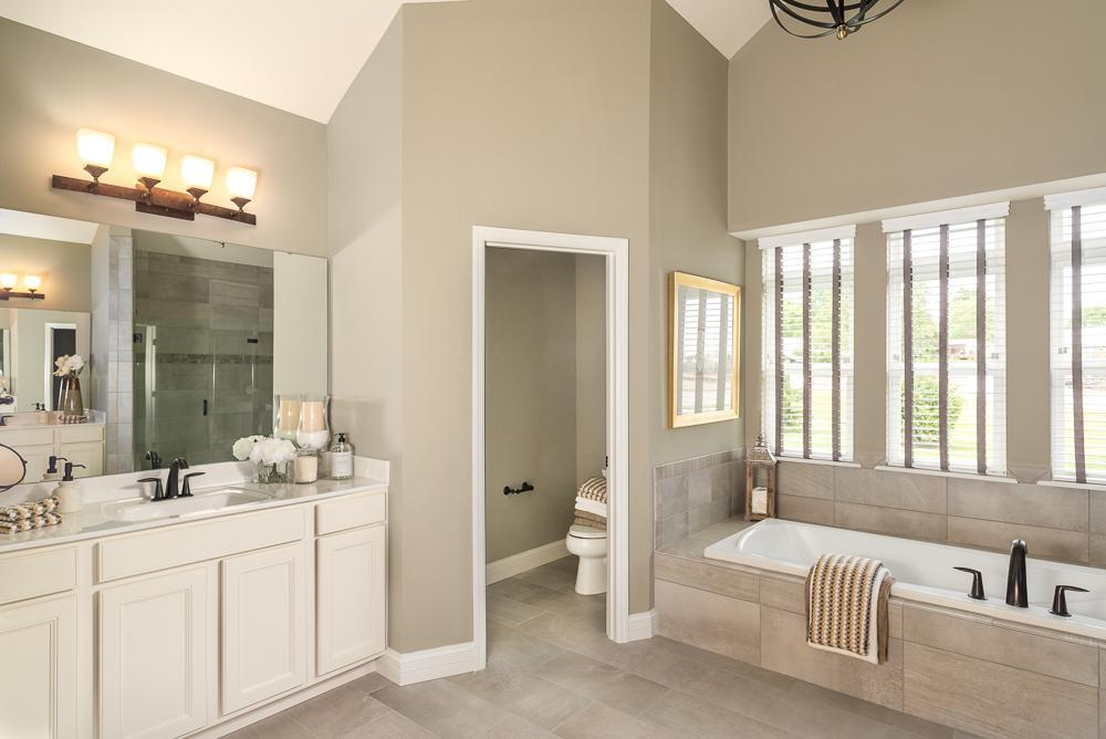 Bathroom featured in the Turnberry By McKelvey Homes in St. Louis, MO