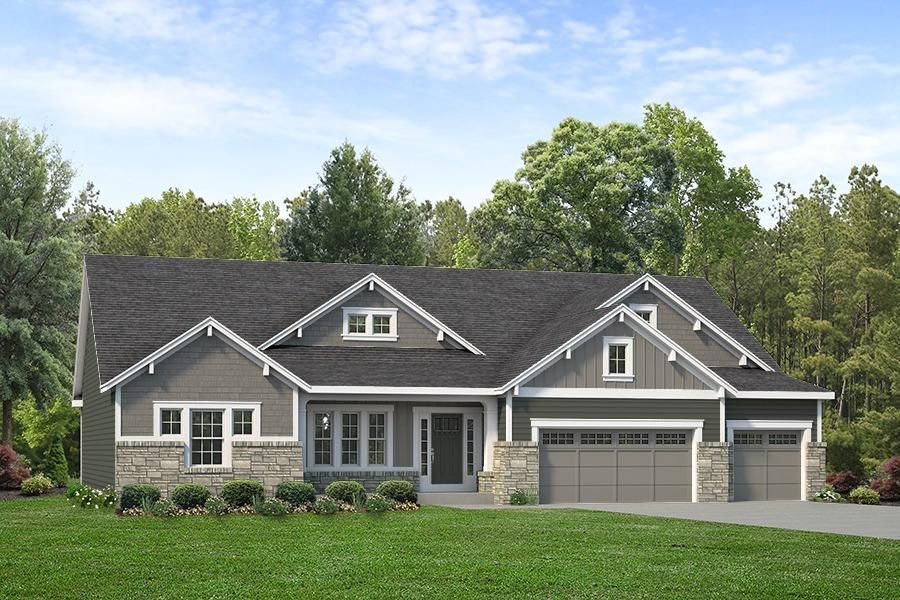 Exterior featured in the LaSalle By McKelvey Homes in St. Louis, MO