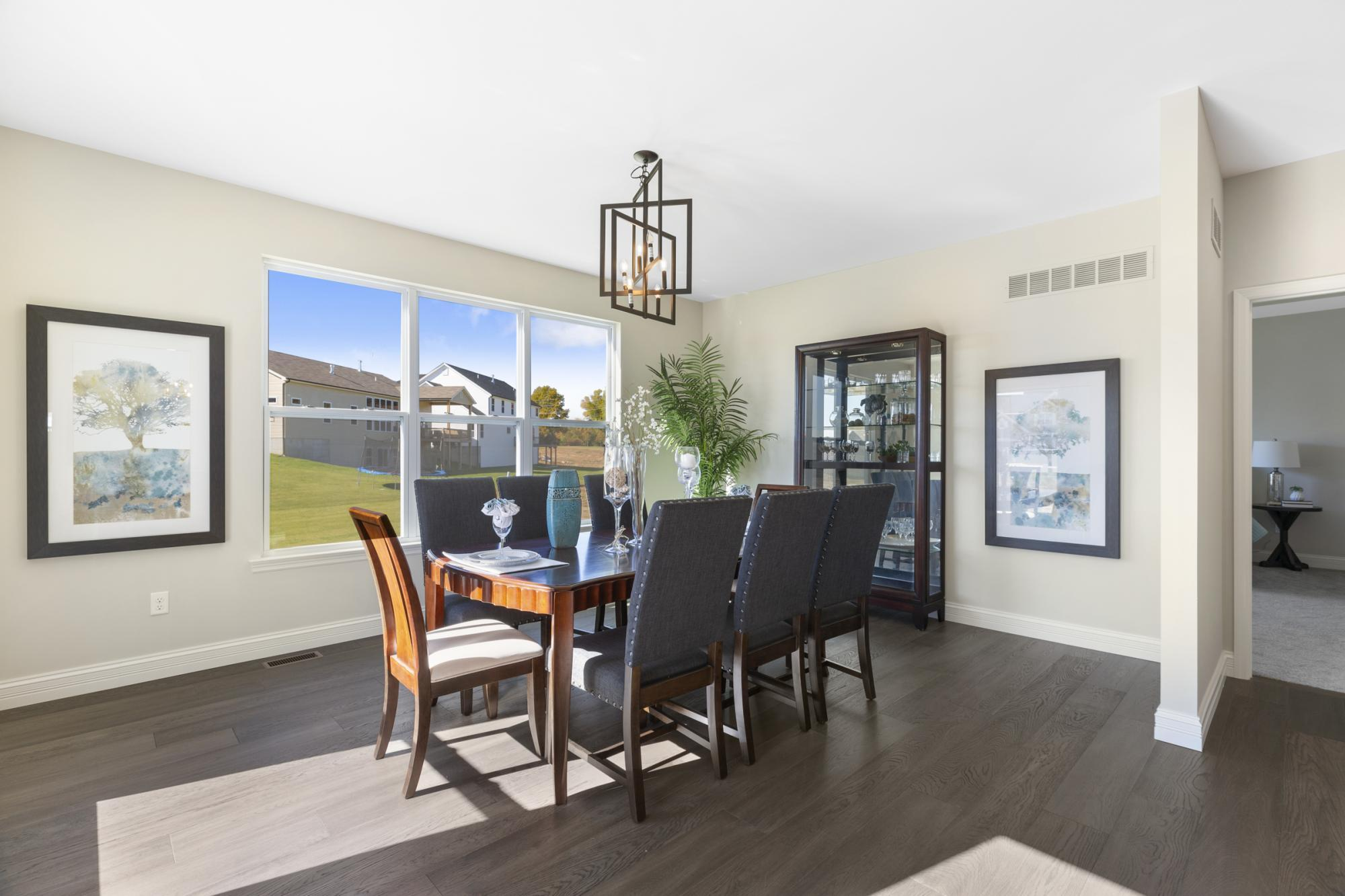 Living Area featured in the LaSalle By McKelvey Homes in St. Louis, MO