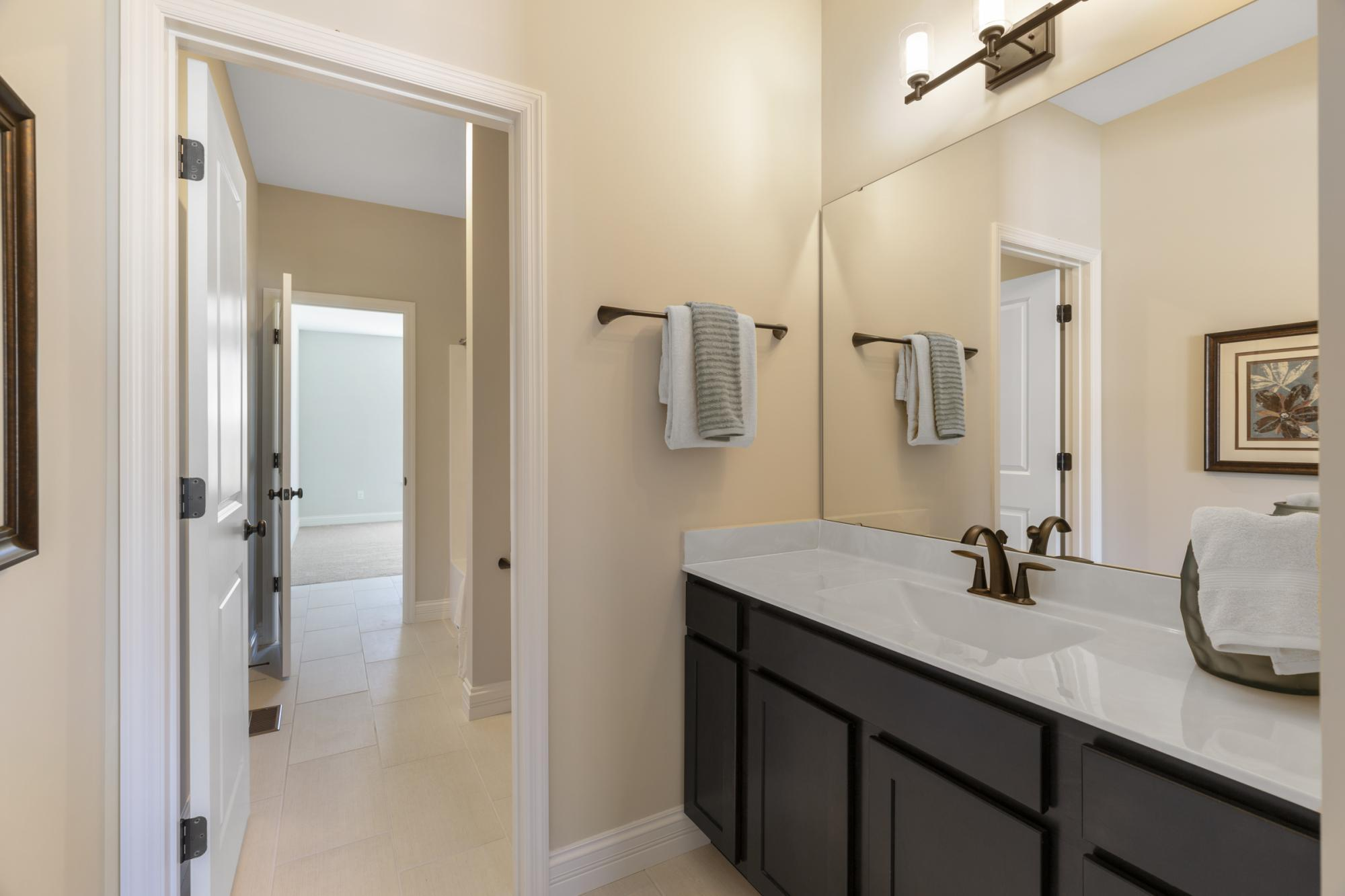 Bathroom featured in the LaSalle By McKelvey Homes in St. Louis, MO