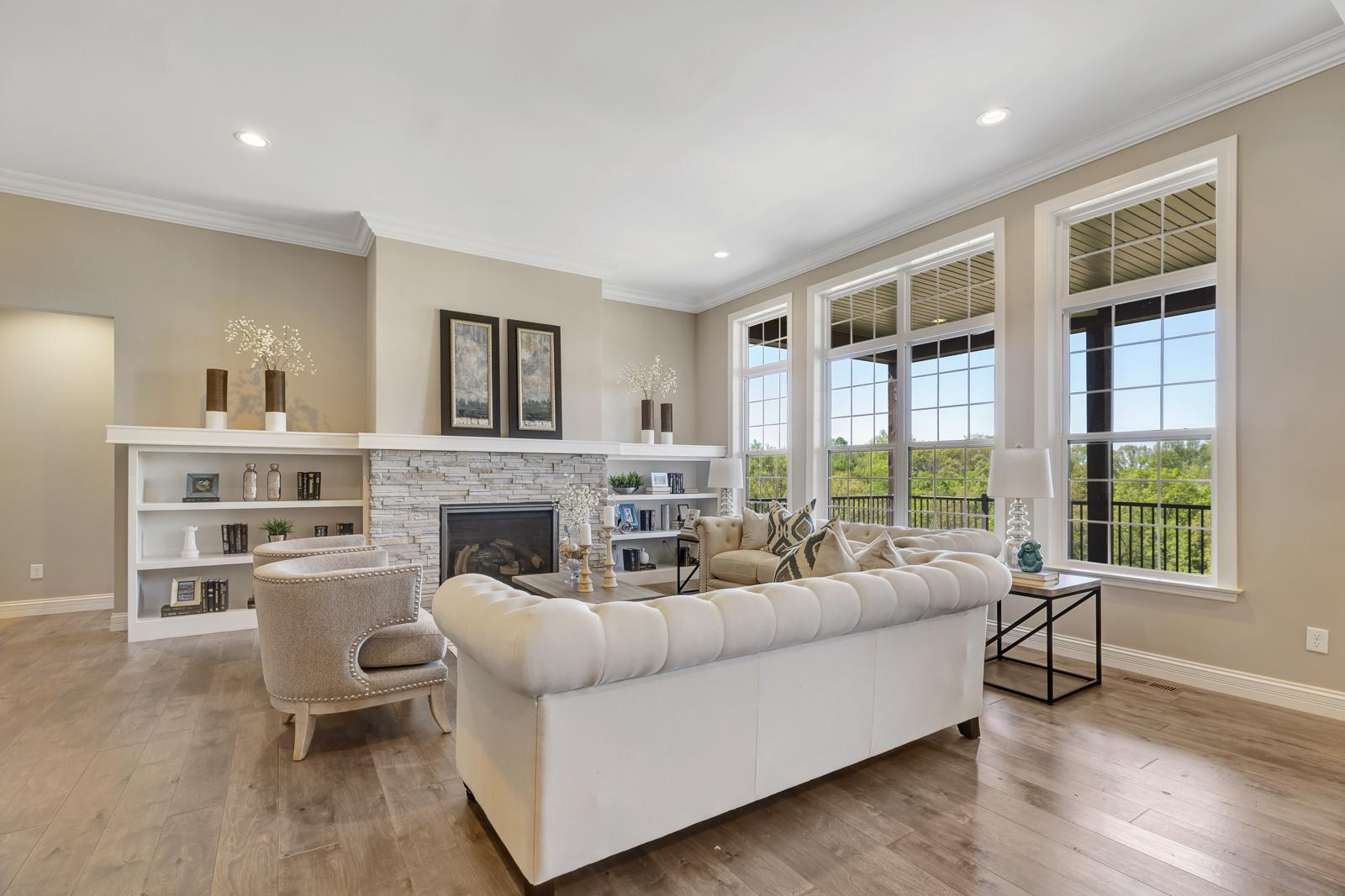Living Area featured in the Lasalle Side Entry By McKelvey Homes in St. Louis, MO