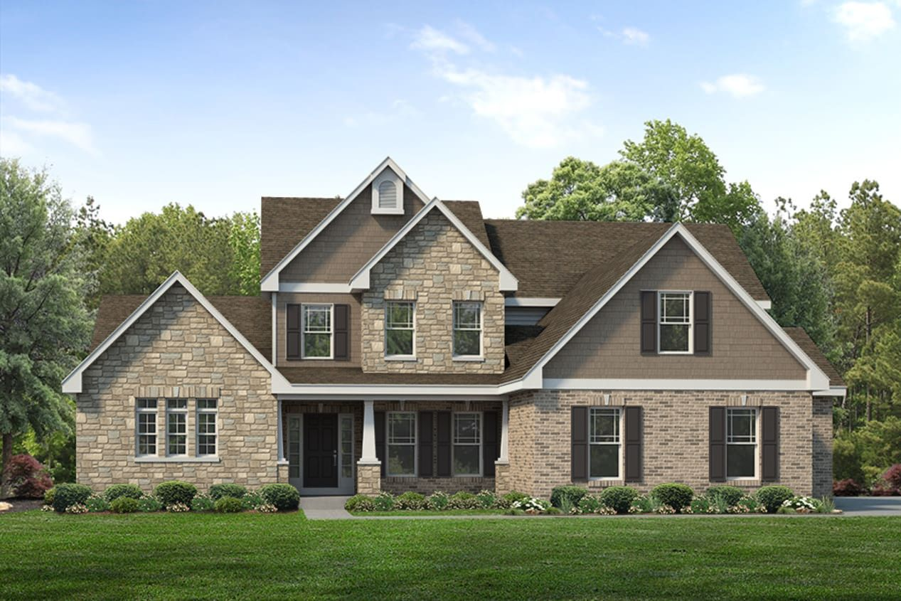 Exterior featured in the Turnberry Side Entry By McKelvey Homes in St. Louis, MO