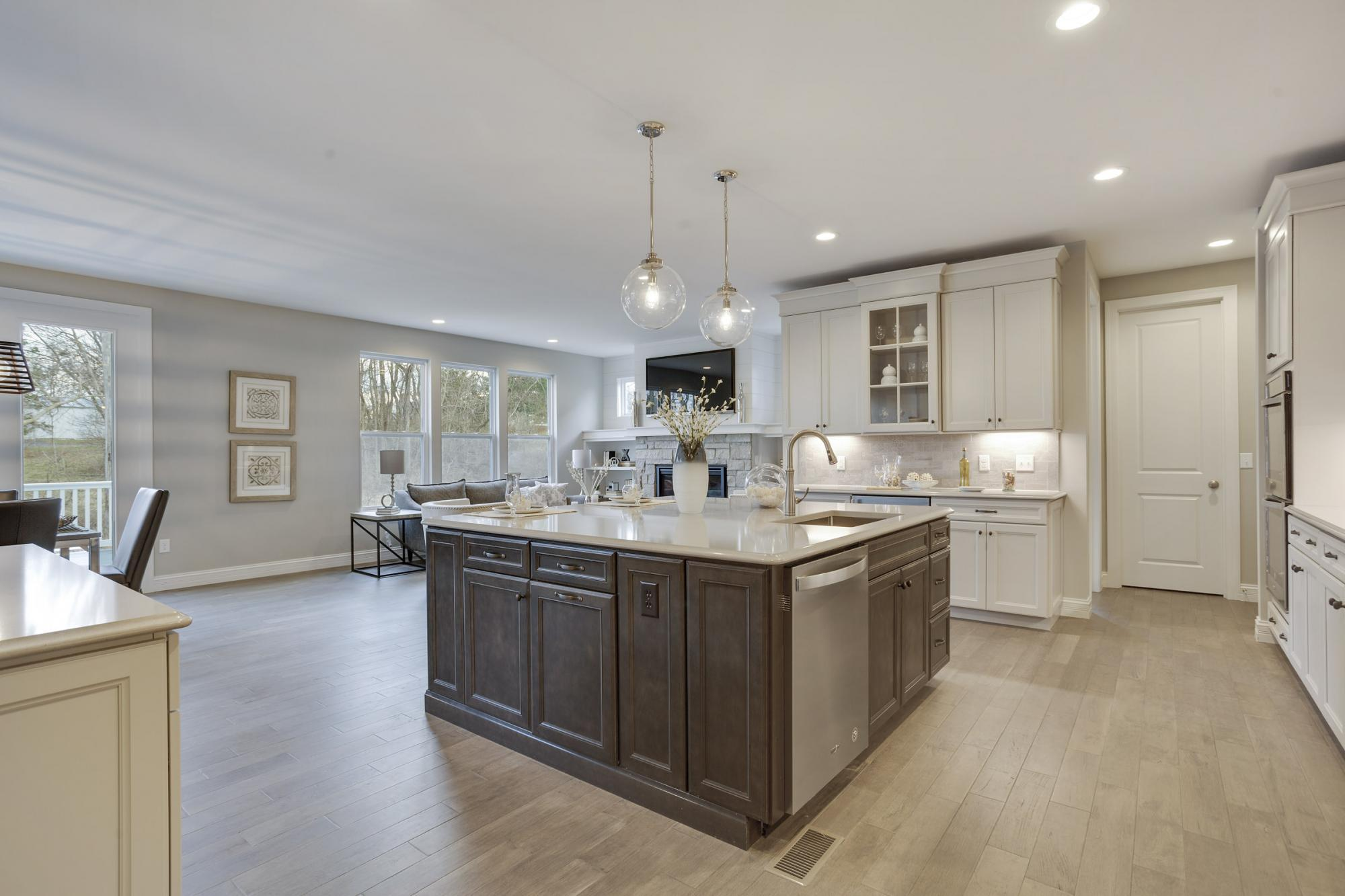 Kitchen featured in the Turnberry Side Entry By McKelvey Homes in St. Louis, MO