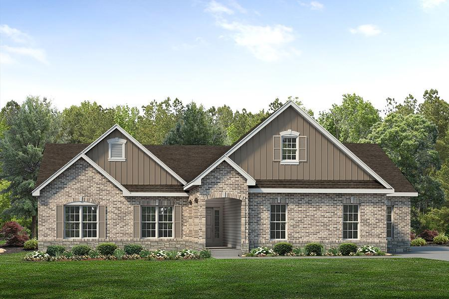 Exterior featured in the Sterling Side Entry By McKelvey Homes in St. Louis, MO