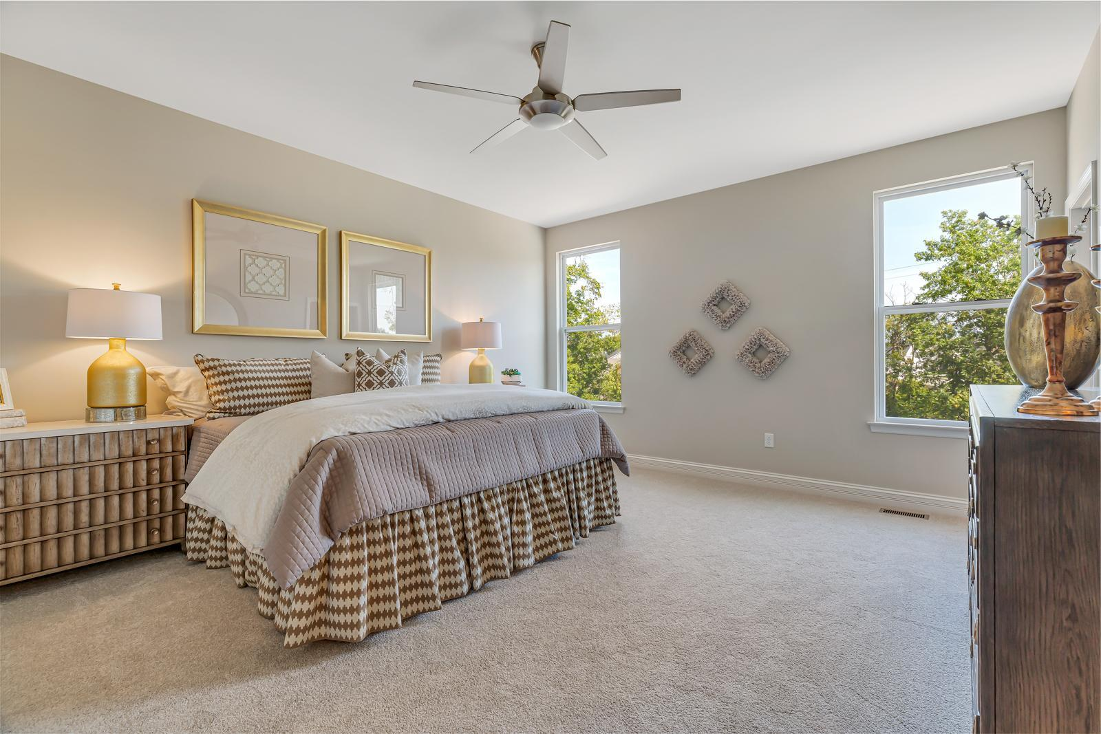 Bedroom featured in the Tuscany II By McKelvey Homes in St. Louis, MO