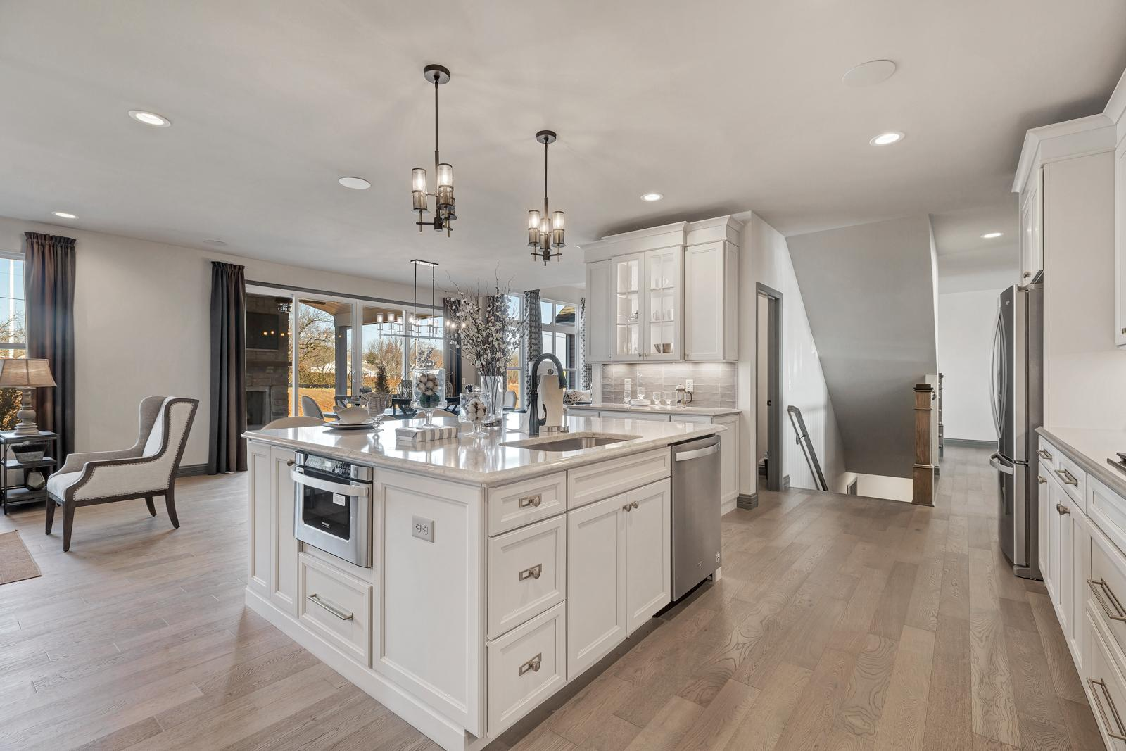 Kitchen featured in the Turnberry By McKelvey Homes in St. Louis, MO