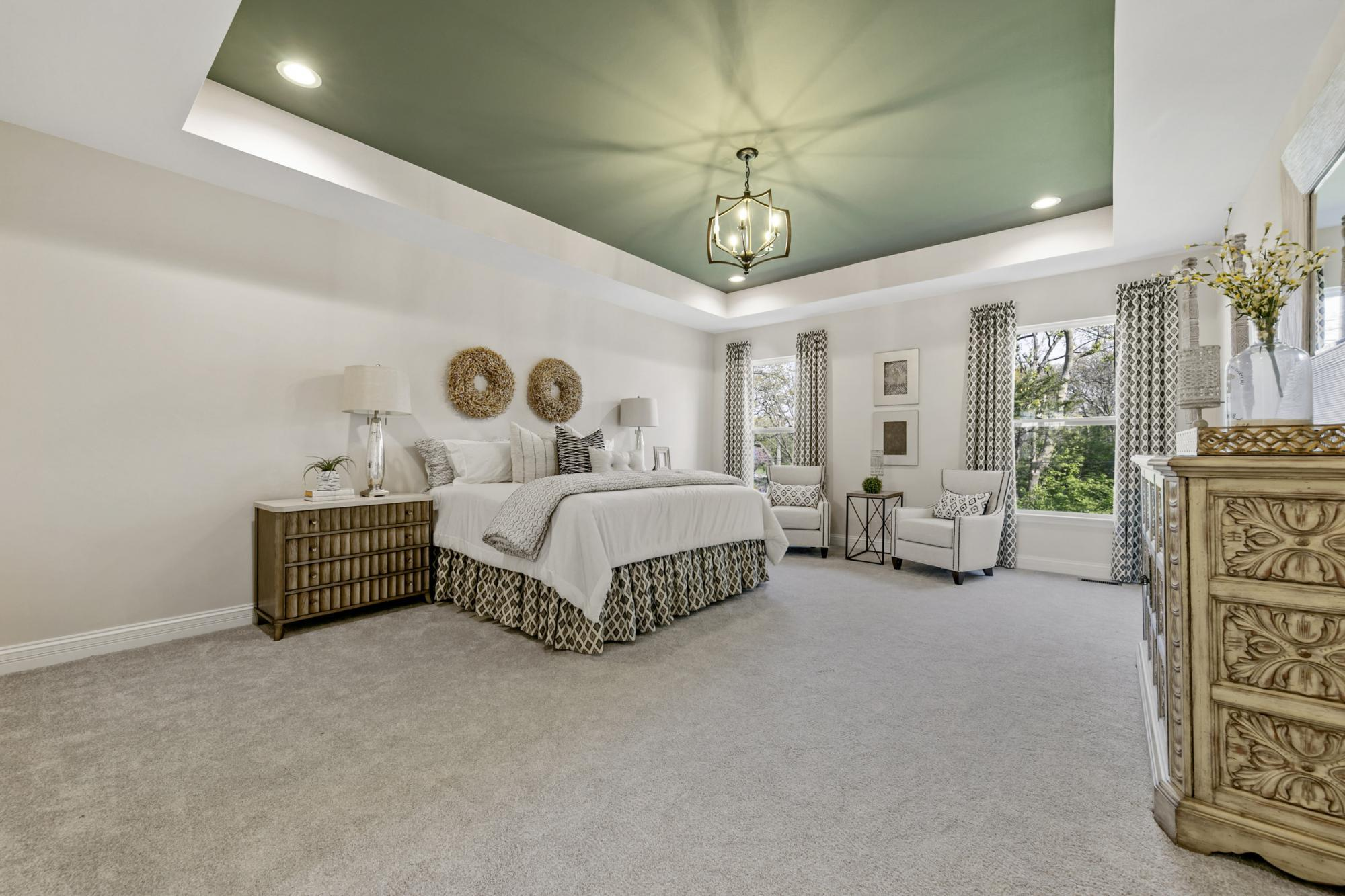 Bedroom featured in the Muirfield By McKelvey Homes in St. Louis, MO