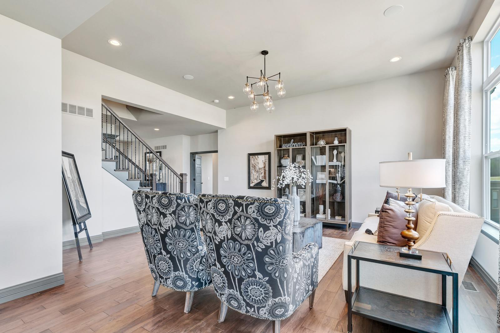 Living Area featured in the Turnberry Side Entry By McKelvey Homes in St. Louis, MO