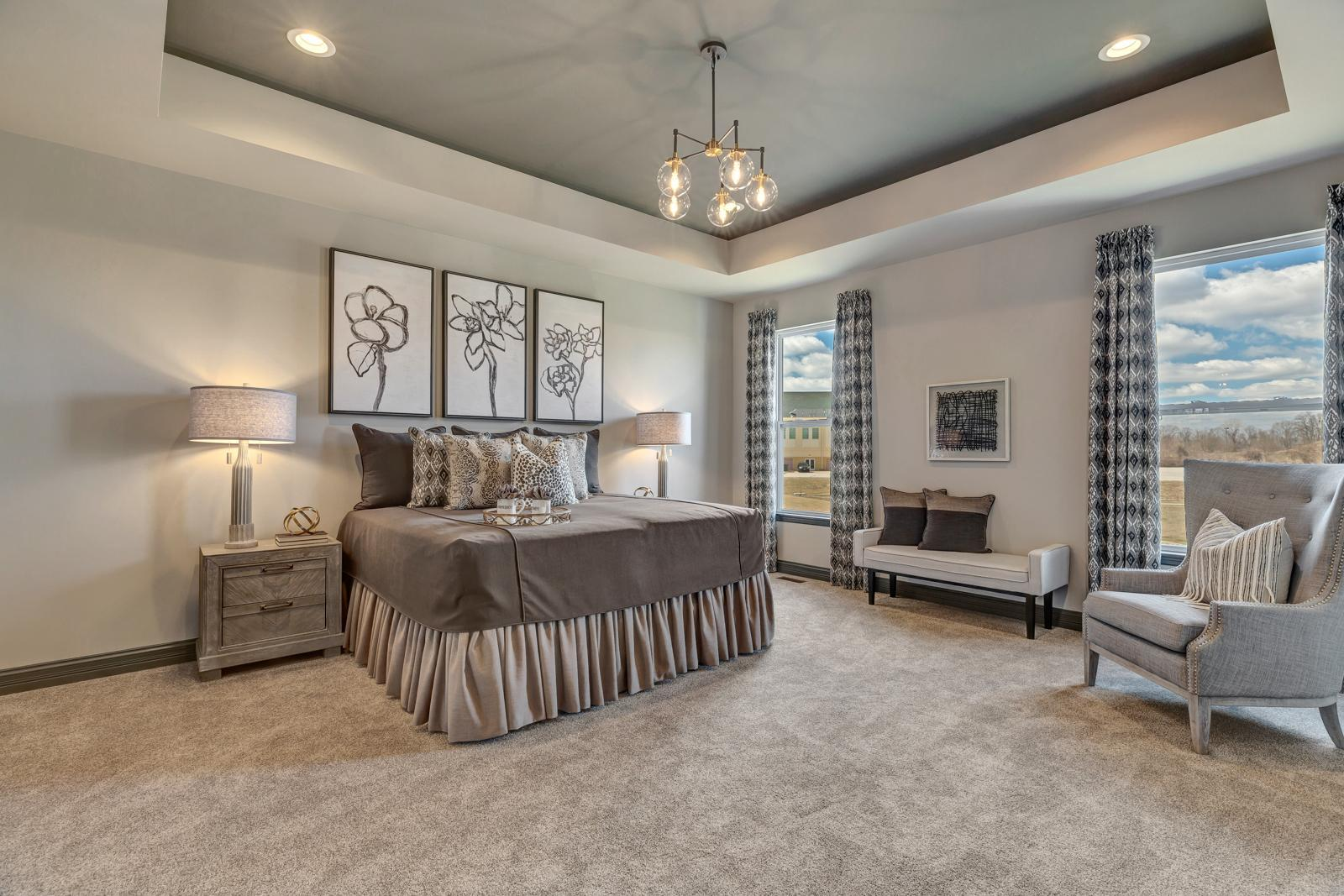Bedroom featured in the Turnberry Side Entry By McKelvey Homes in St. Louis, MO