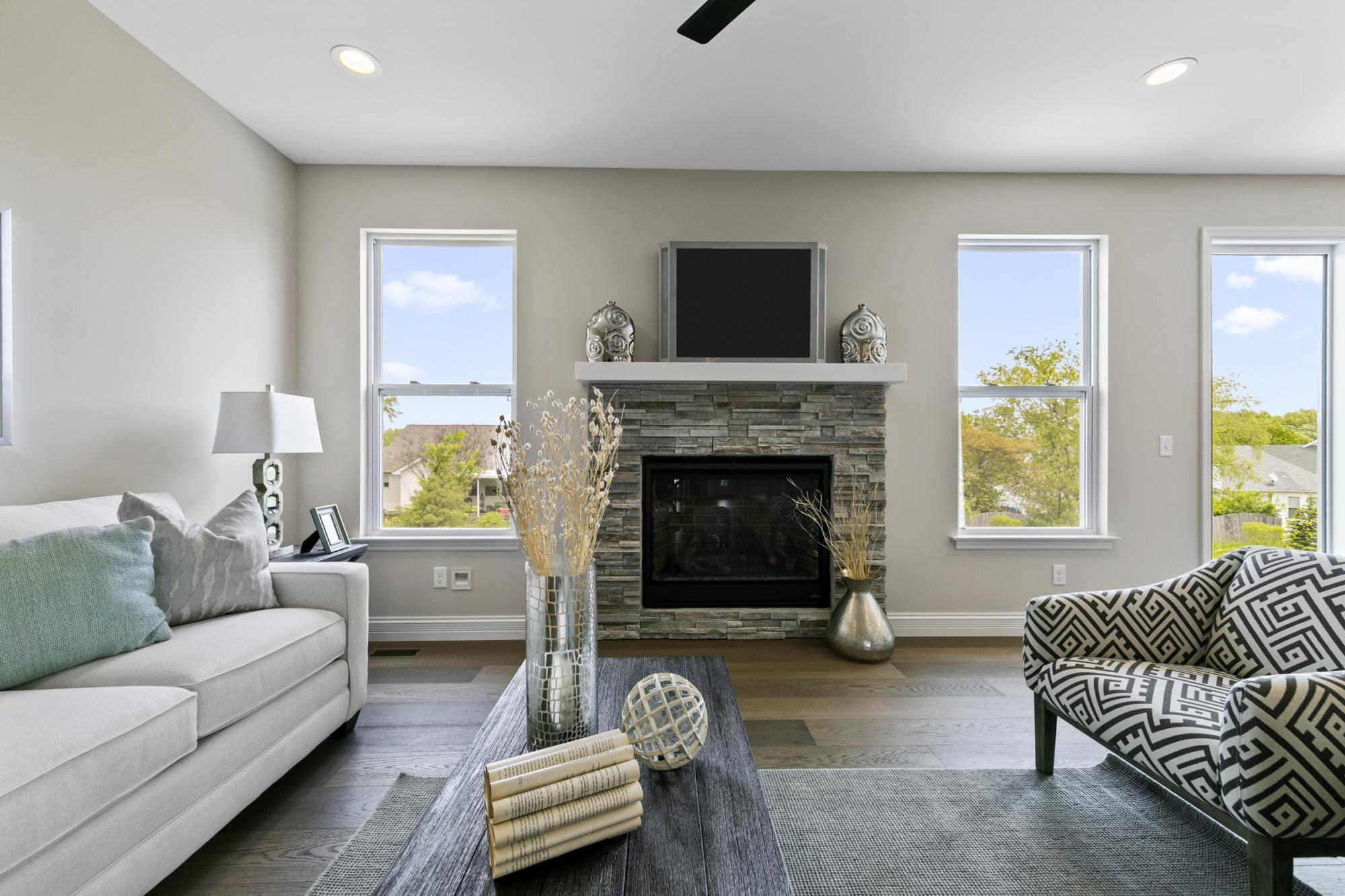 Living Area featured in the Hemingway By McKelvey Homes in St. Louis, MO