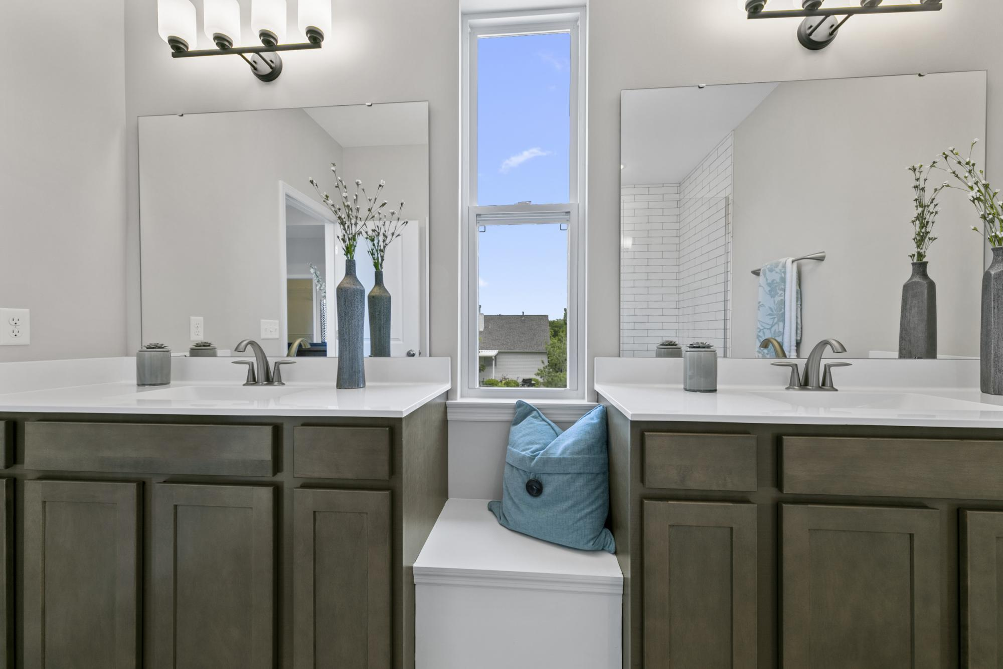 Bathroom featured in the Hemingway By McKelvey Homes in St. Louis, MO
