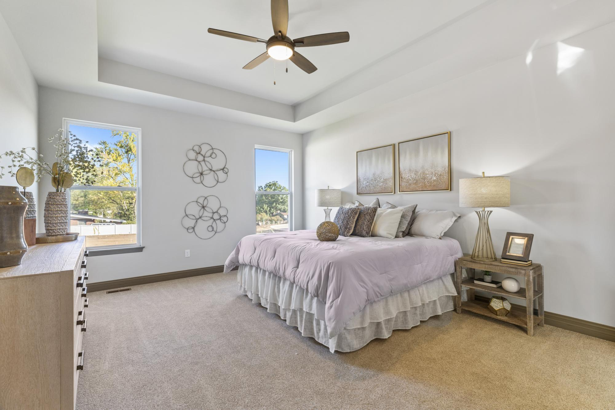 Bedroom featured in the Madison By McKelvey Homes in St. Louis, MO