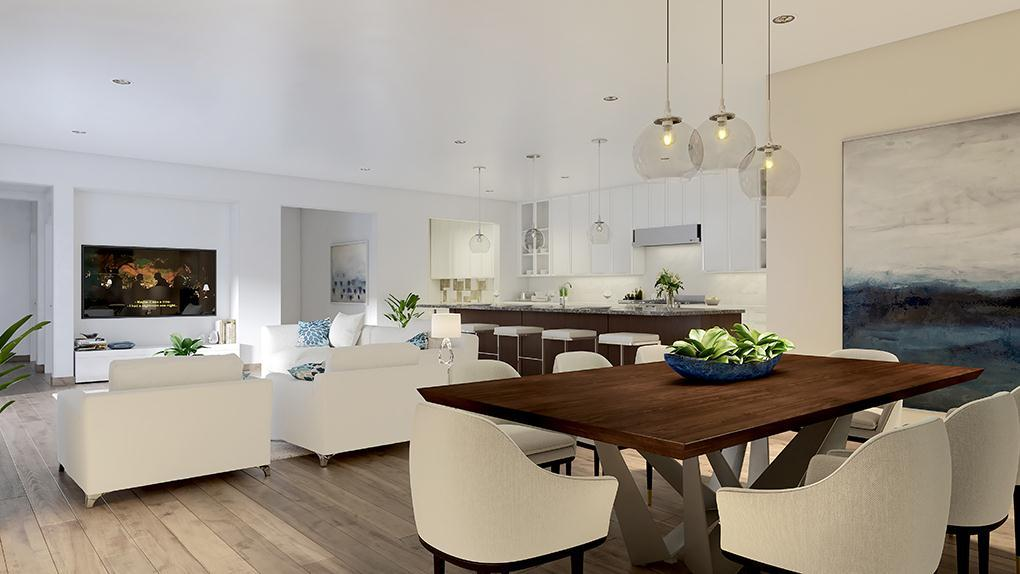 Living Area featured in the Residence 1 By McKellar McGowan in San Diego, CA