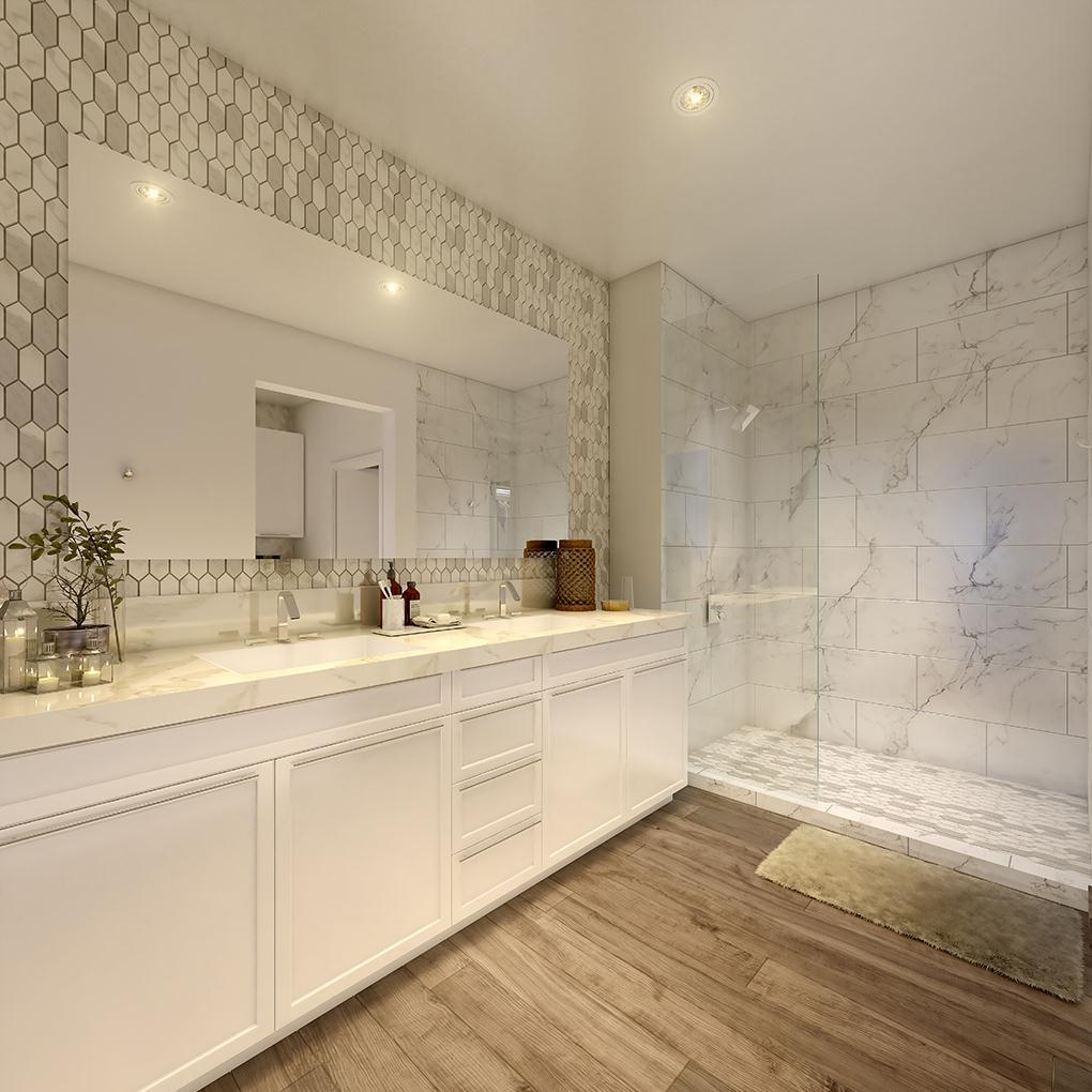 Bathroom featured in the Residence 1 By McKellar McGowan in San Diego, CA