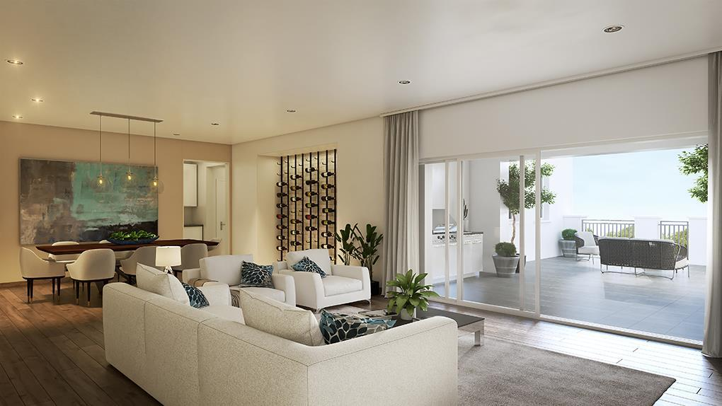 Living Area featured in the Residence 4 By McKellar McGowan in San Diego, CA