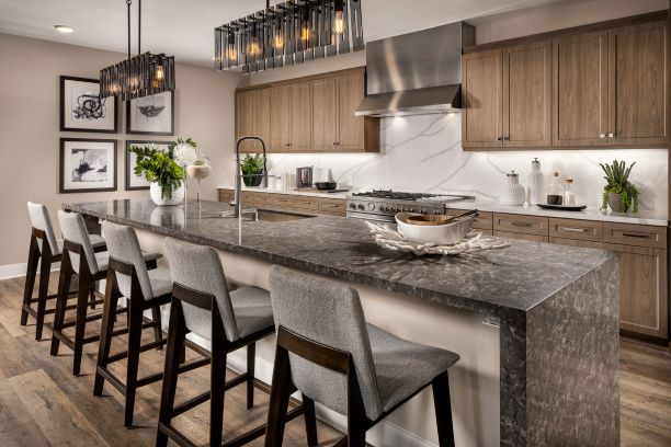 Kitchen featured in the Residence 5 By McKellar McGowan in San Diego, CA