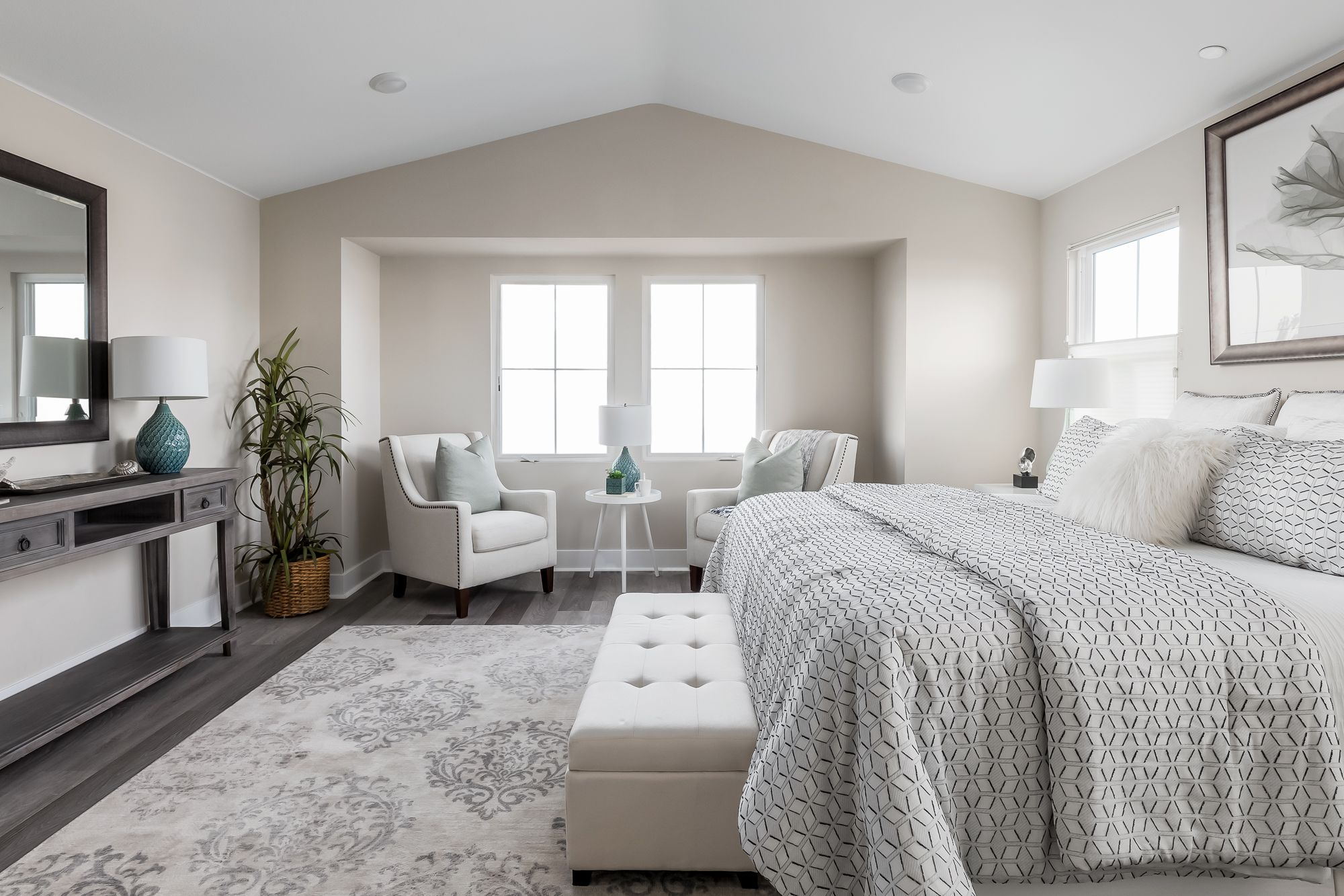 Bedroom featured in the Single Family Homes 1 By McKellar McGowan in San Diego, CA
