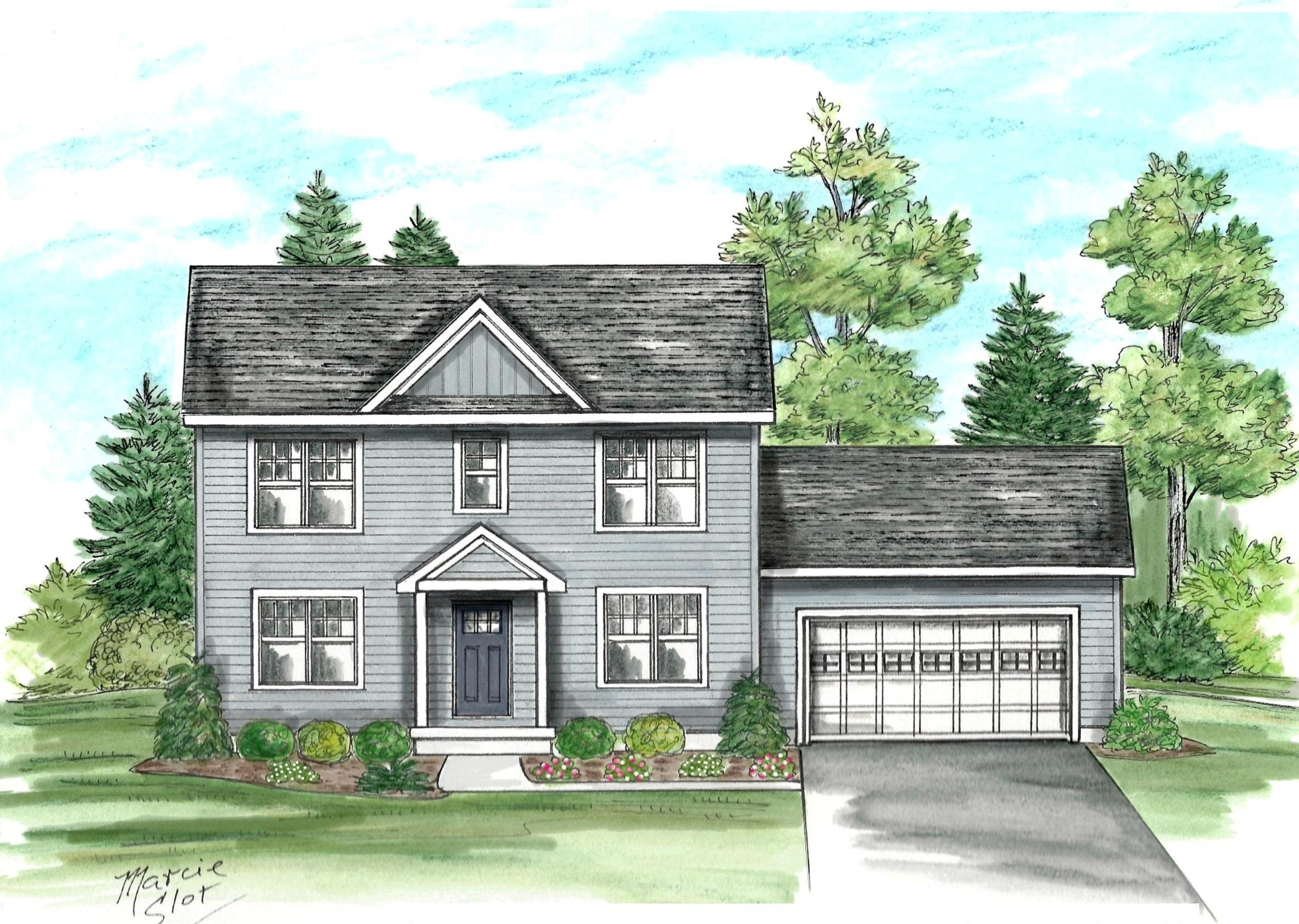 Exterior featured in the Hickory By McPadden Builders in Albany-Saratoga, NY