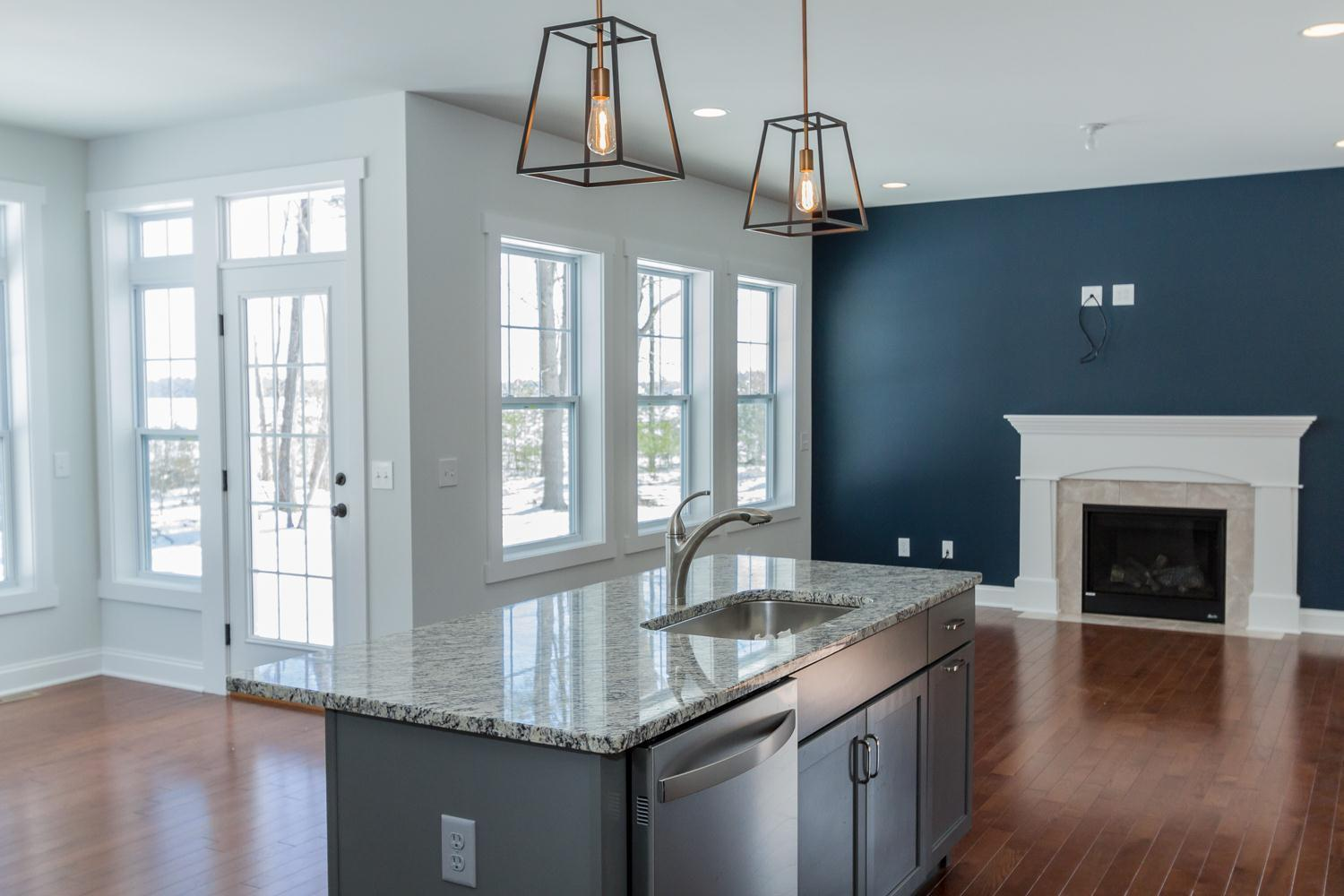 Kitchen featured in the Walnut By McPadden Builders in Albany-Saratoga, NY